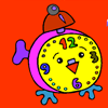 Clock Coloring Game