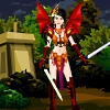 Girl Power Warrior Dress Up