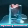 Icy heart 5 Differences