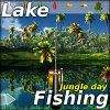 Lake fishing: Jungle day
