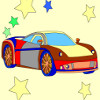 Kid&#039;s coloring: Super car