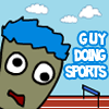 Guy Doing Sports
