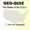 GeoQuiz - the states of the usa