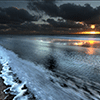 Sunrise Over the Ocean Jigsaw Puzzle