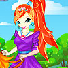 Princess Bloom Dressup
