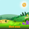 Hot sun 5 Differences