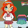 Chibi Bloom School Girl