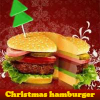 Christmas hamburger