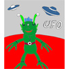 UFO - Martian Coloring