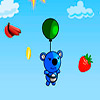 Blue panda fruit catcher