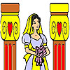 Wedding ceremony coloring