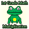1st Grade Math Multiplication
