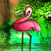Flamingos in the lake puzzle