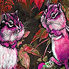Chatty pink squirrels puzzle