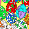 Coloring Easter Eggs 1 - Rossy Coloring Games