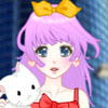 anime animal lover dress up game