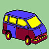 Concept mini bus coloring