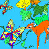 Kids coloring: Butterfly