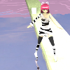 Angel Catgirl 360º View 3D